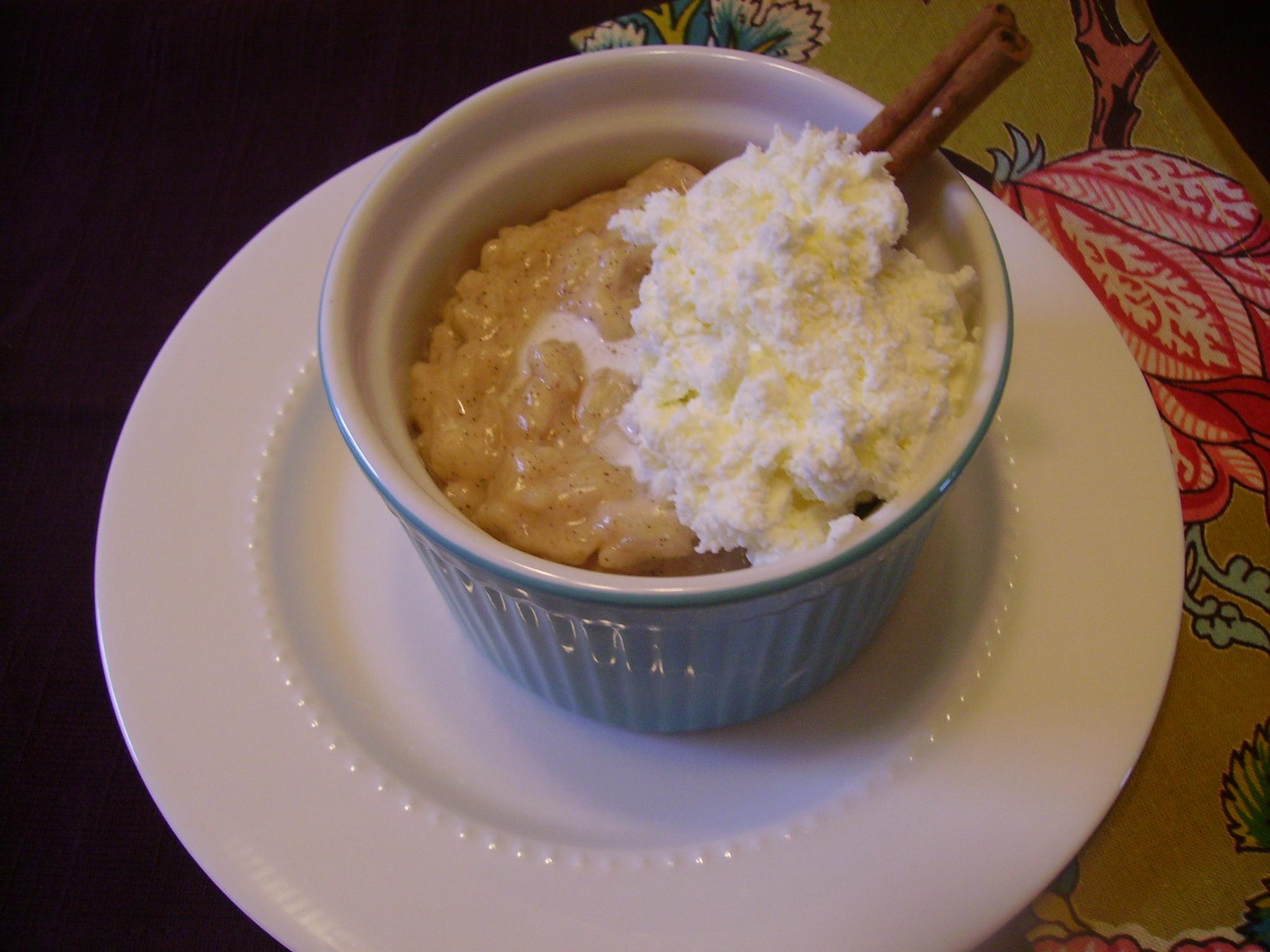 Vanilla Bean Risotto Pudding – Savored Grace