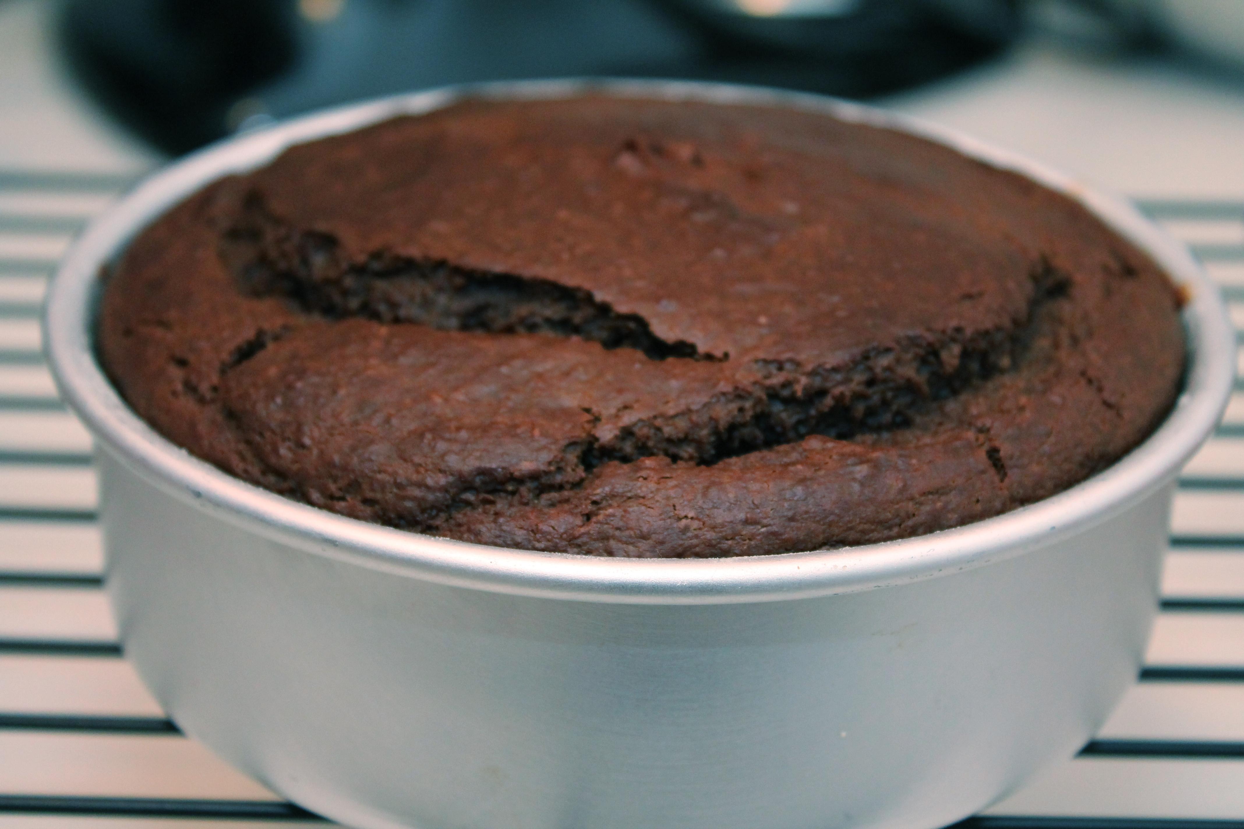 Cocoa + Prunes = Cake