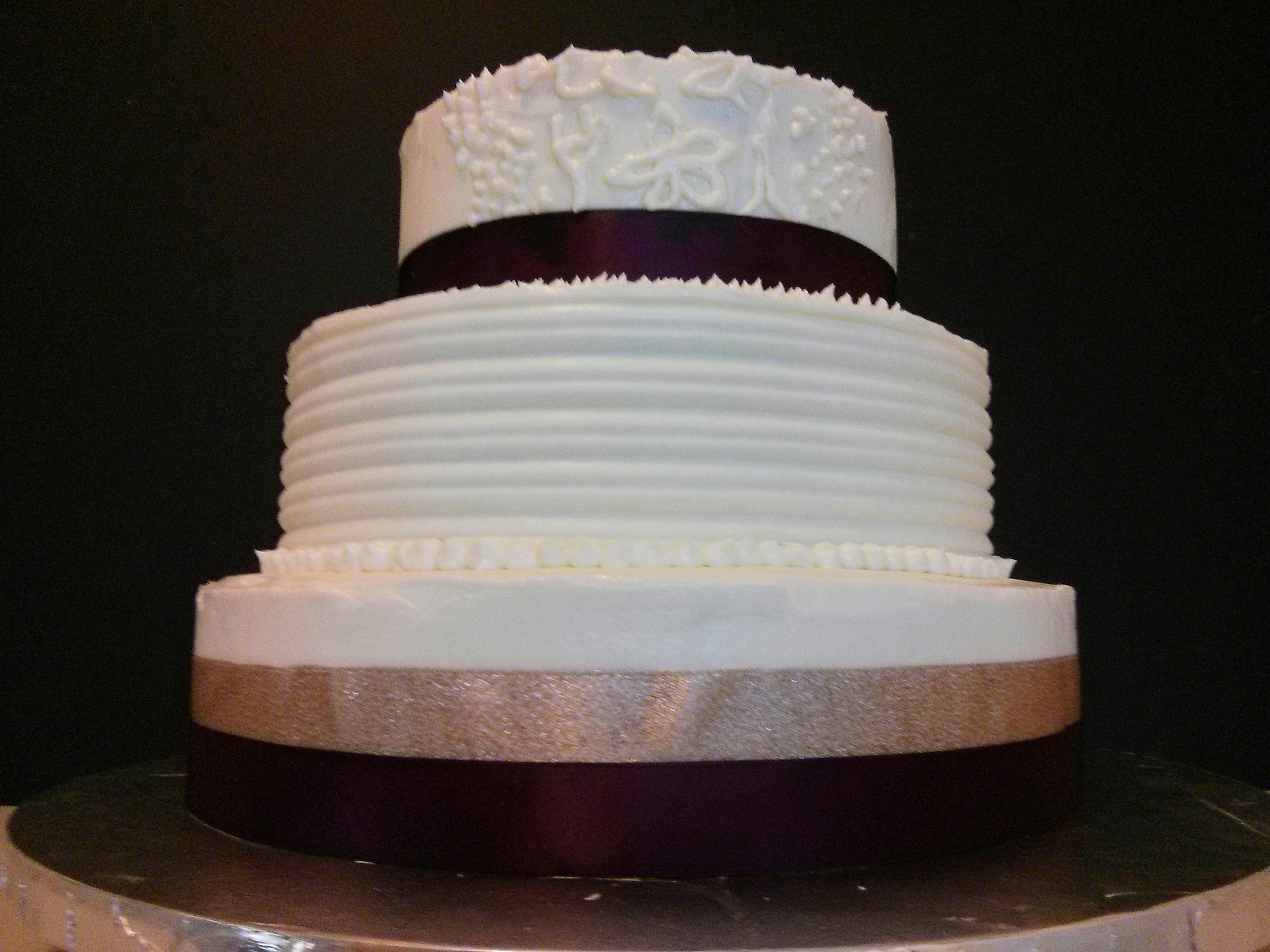 Three-Style Test Cake