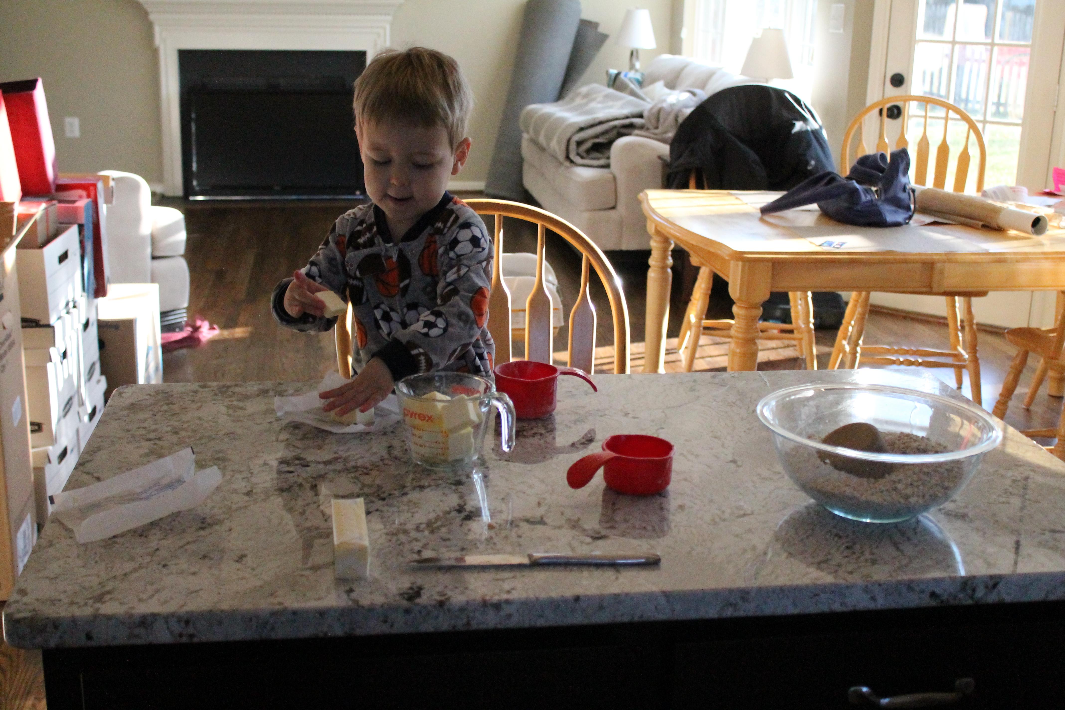 Baking in PJs