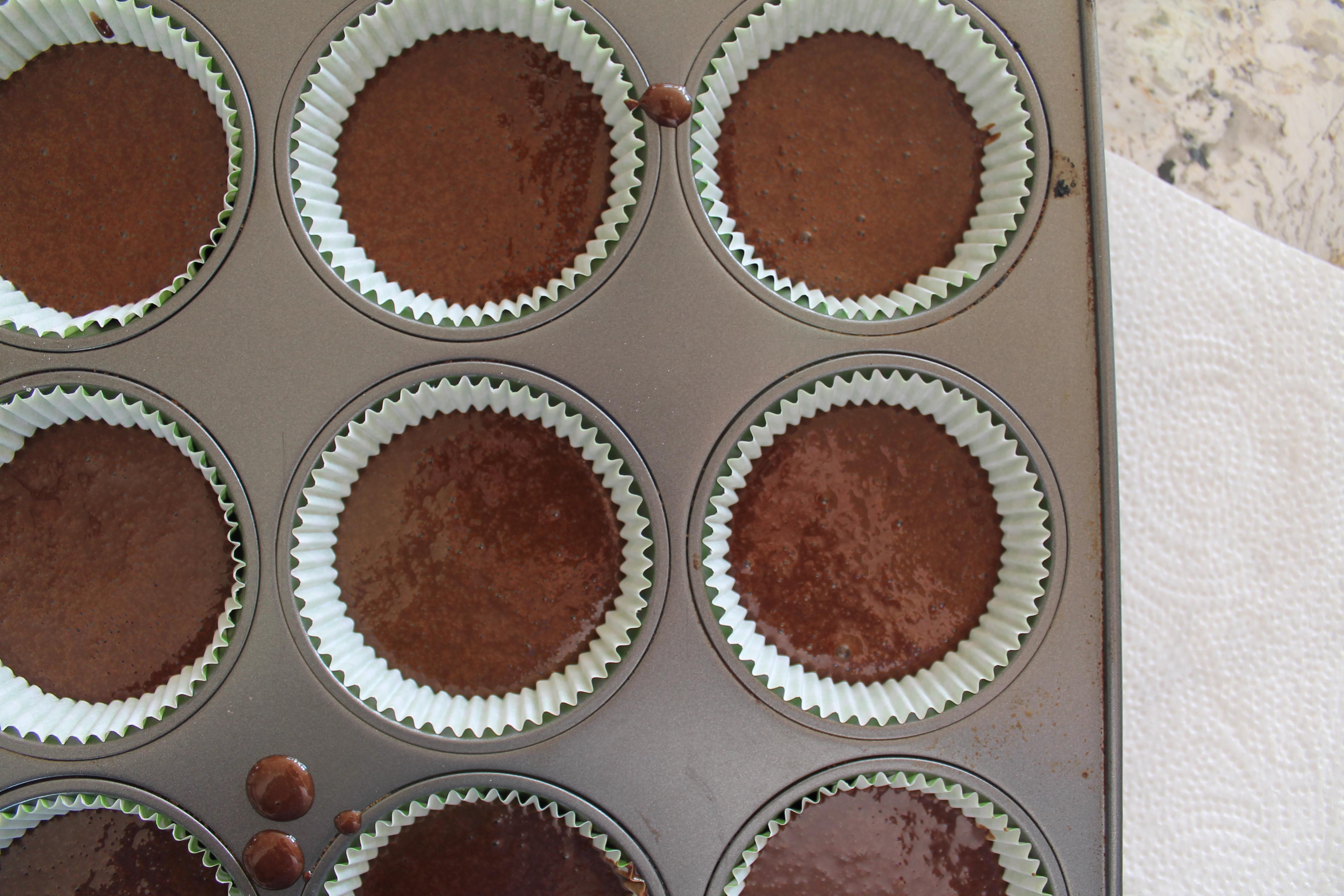 Filled Cupcake Tray