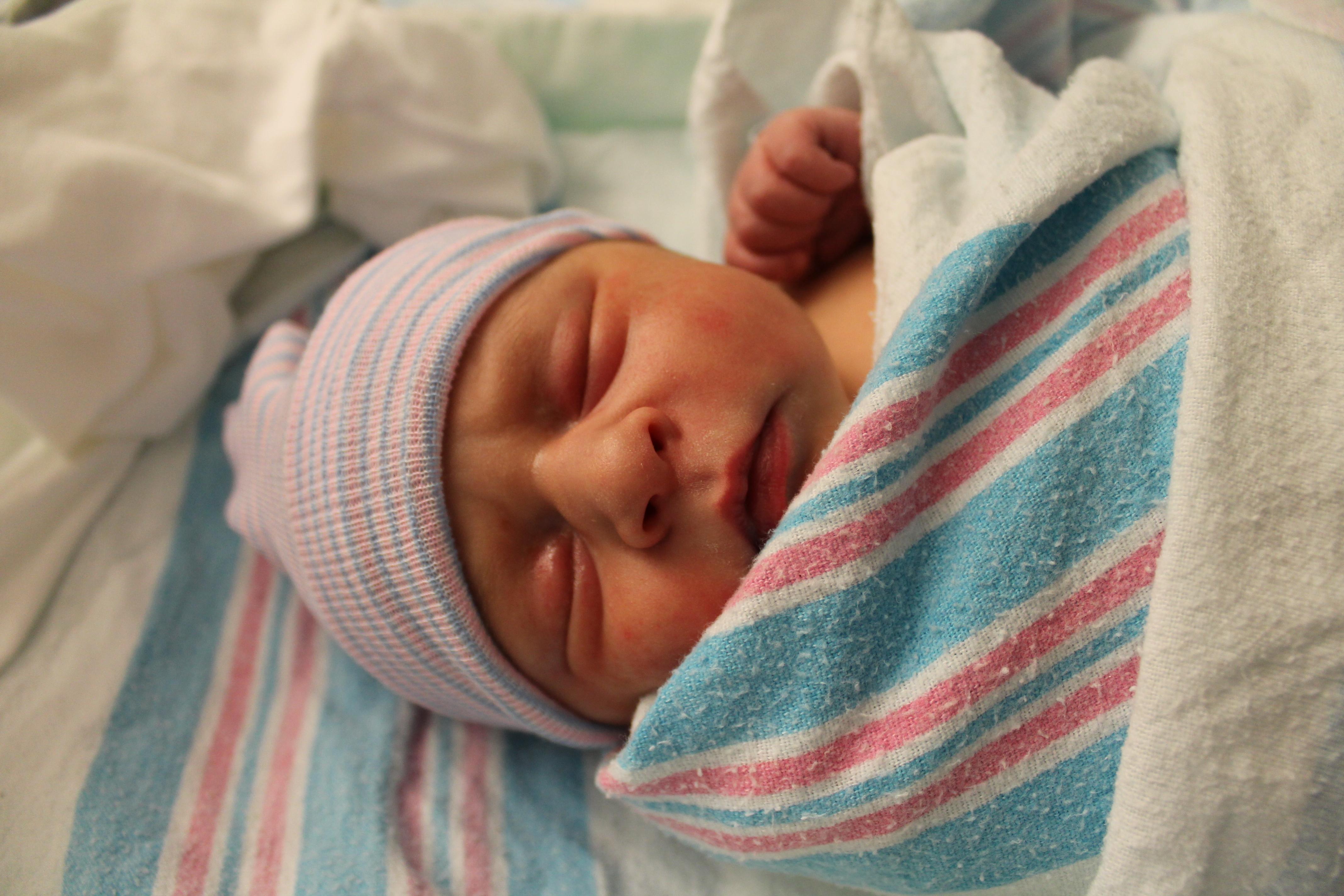 Baby Caitlin
