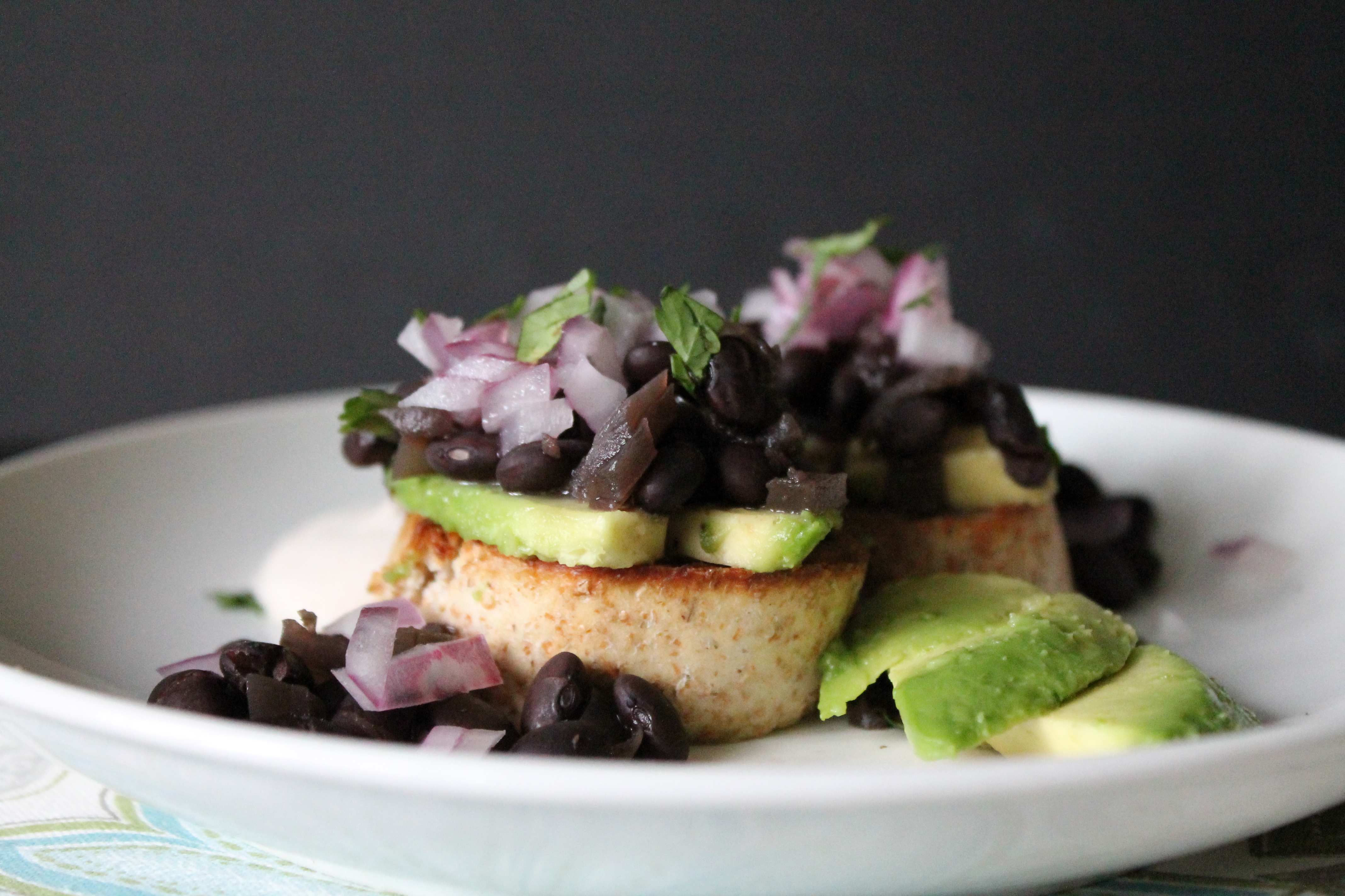 Black Bean Crostini