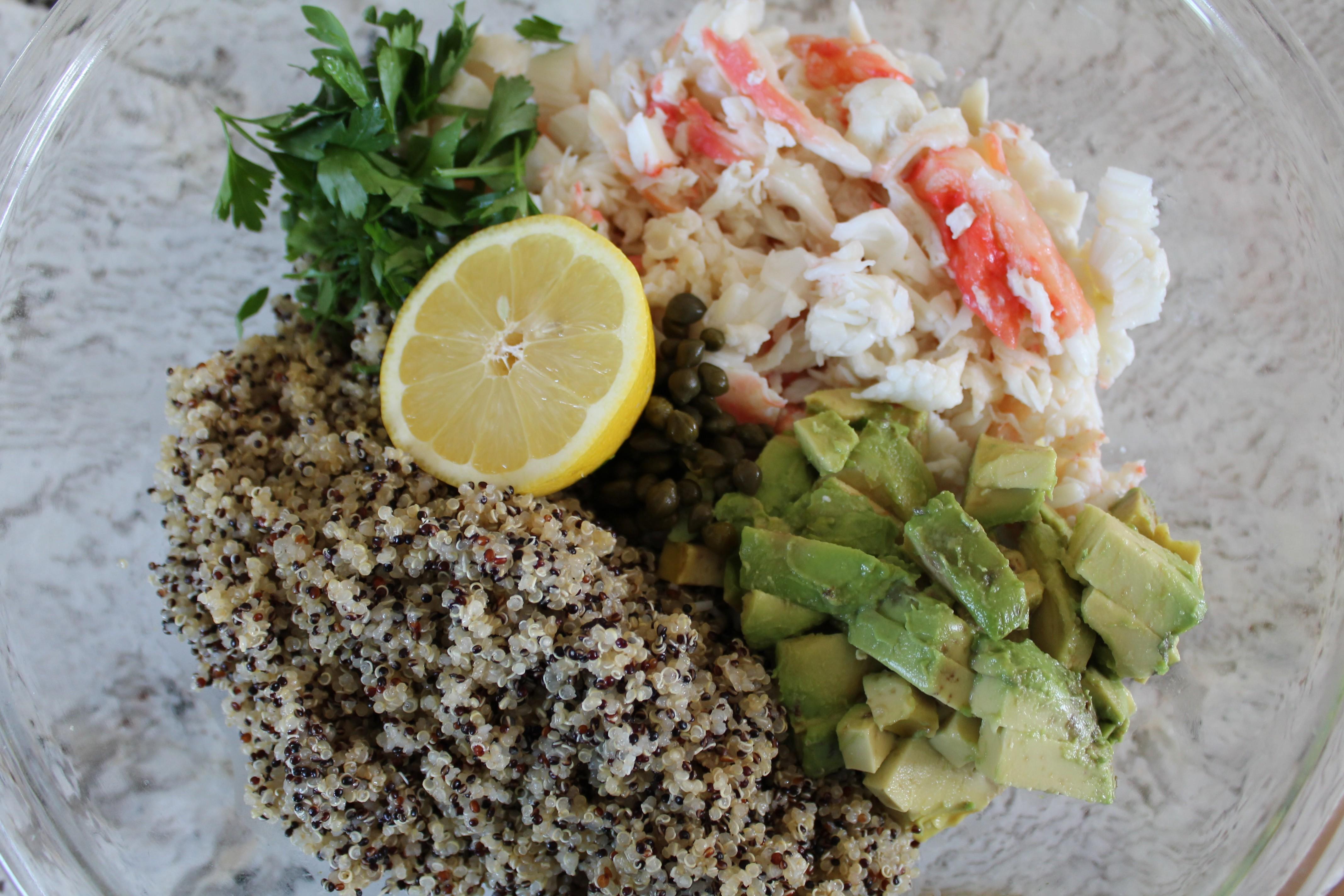 Seafood + Salad
