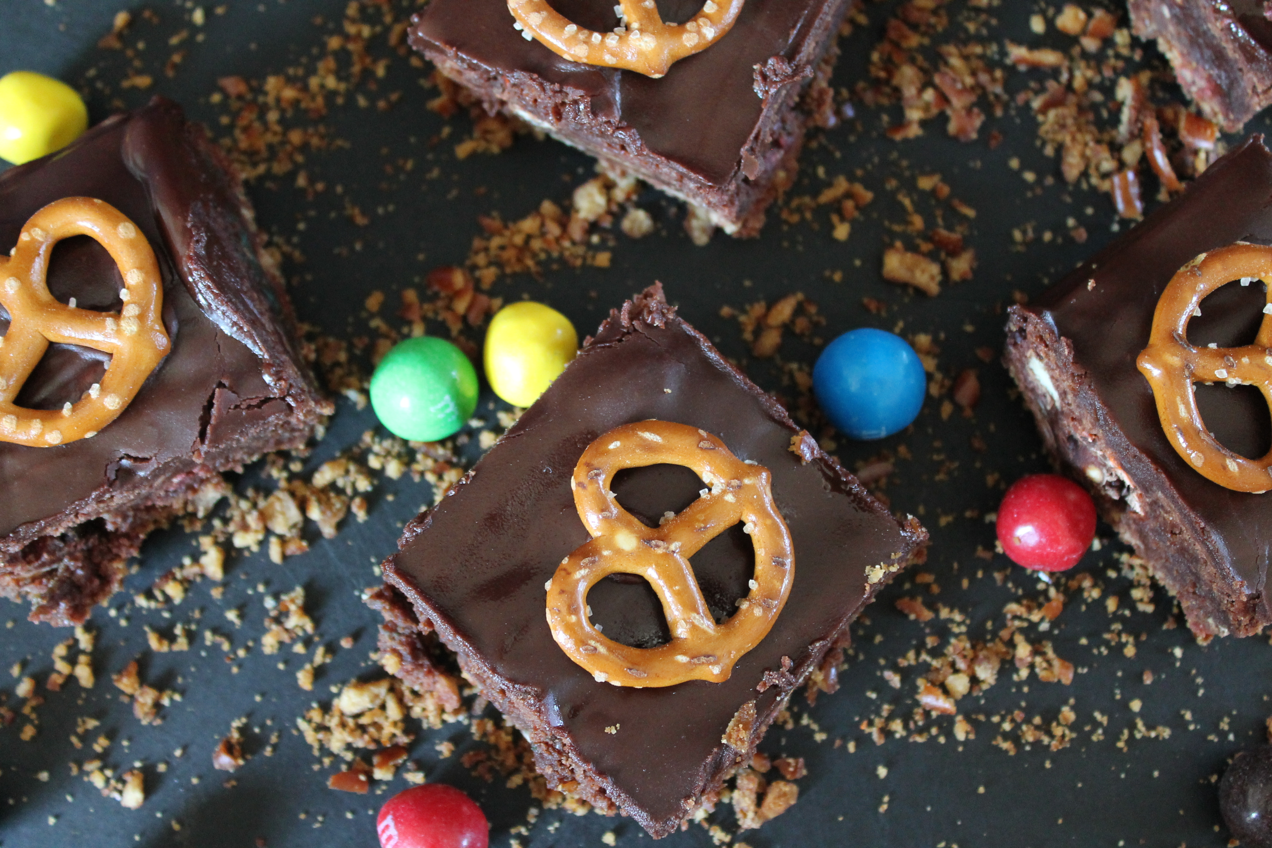 Pretzels and Chocolate