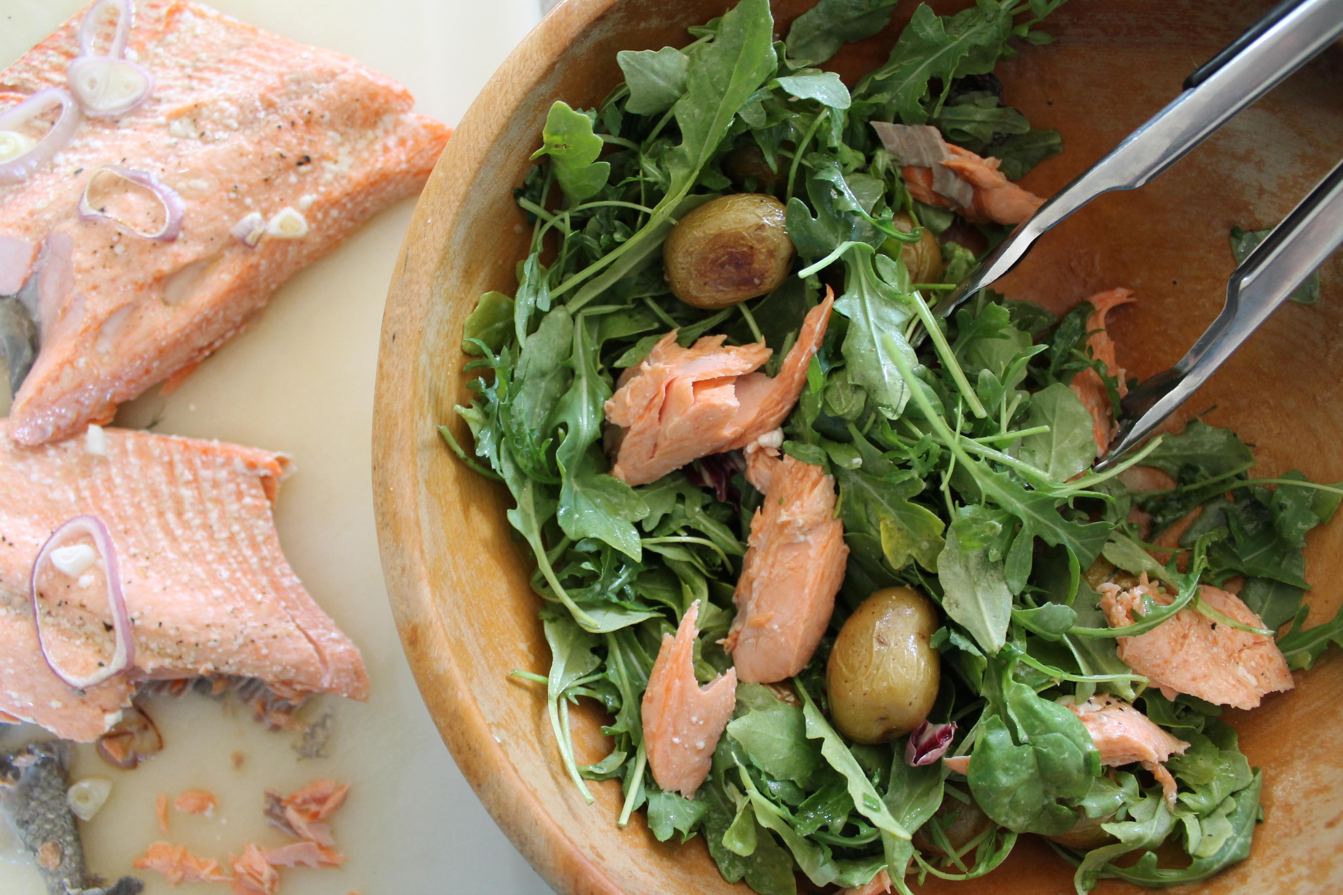 Salad Comes Together