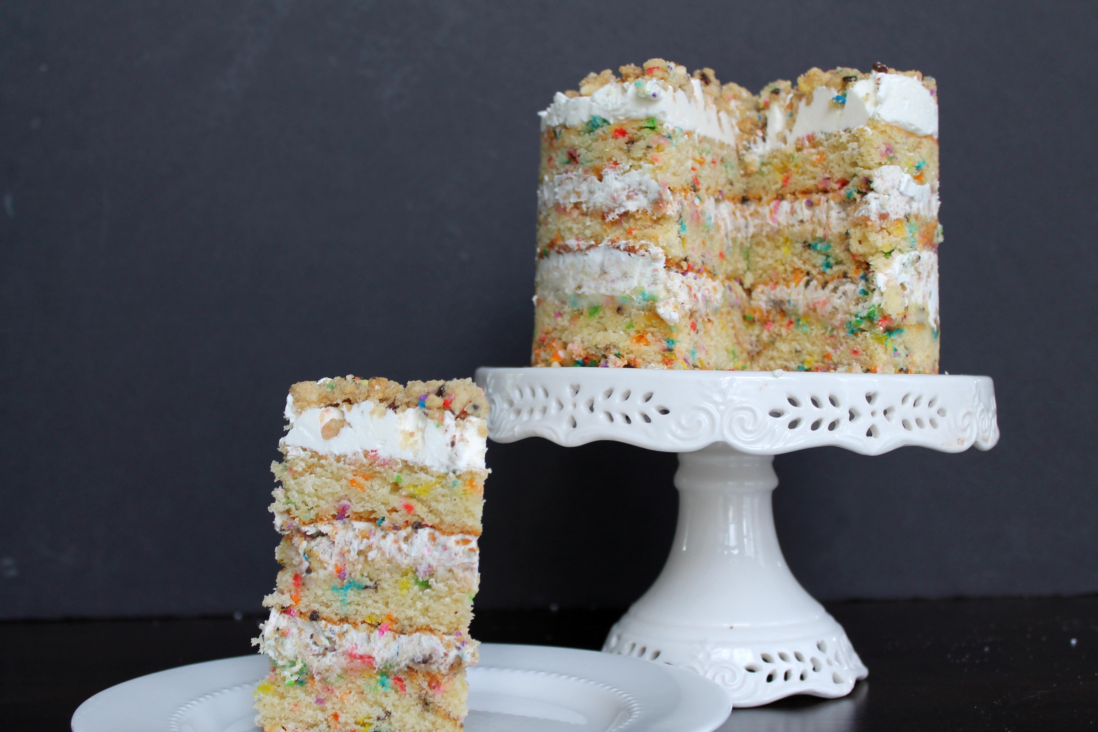 Milk Bar Funfetti Birthday Cake Savored Grace